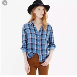 Madewell Medium Long Sleeve Button Down Flannel